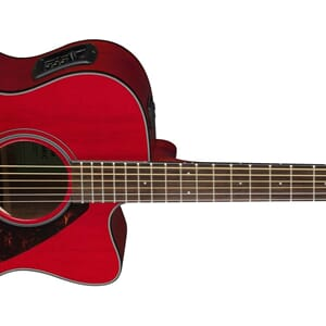 Yamaha FSX800C Folk Guitar Ruby Red