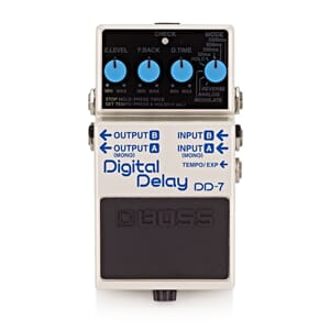 Boss pedal Digital Delay 7 dd-7