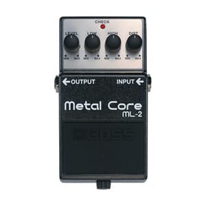 Boss pedal Metal Core ml-2