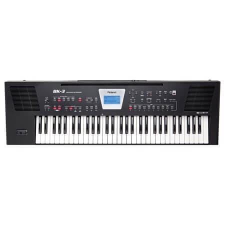 Roland BK-3-BK Backing keyboard 61 keys