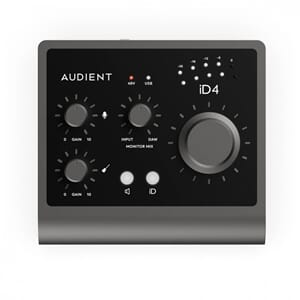 AUDIENT iD4 - 2in/2out Audio Interface