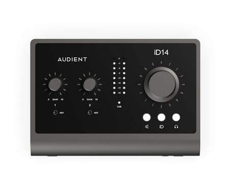 AUDIENT iD14 MkII - 10in/6out Audio Interfac