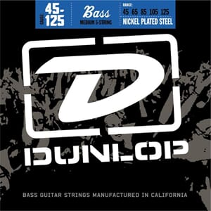 Dunlop Bass str 45-125 5 str. Nickel DBN45125
