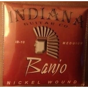 Strenger banjo Indiana Medium 5. str