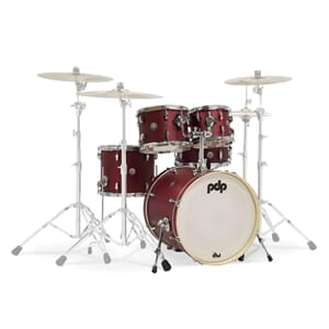 PDP Shell set Cherry Satin Spectrum Series  by DW